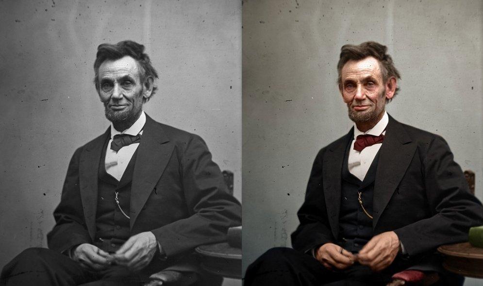 Kā izskatās, ja melnbaltas fotogrāfijas pēkšņi iegūst krāsu