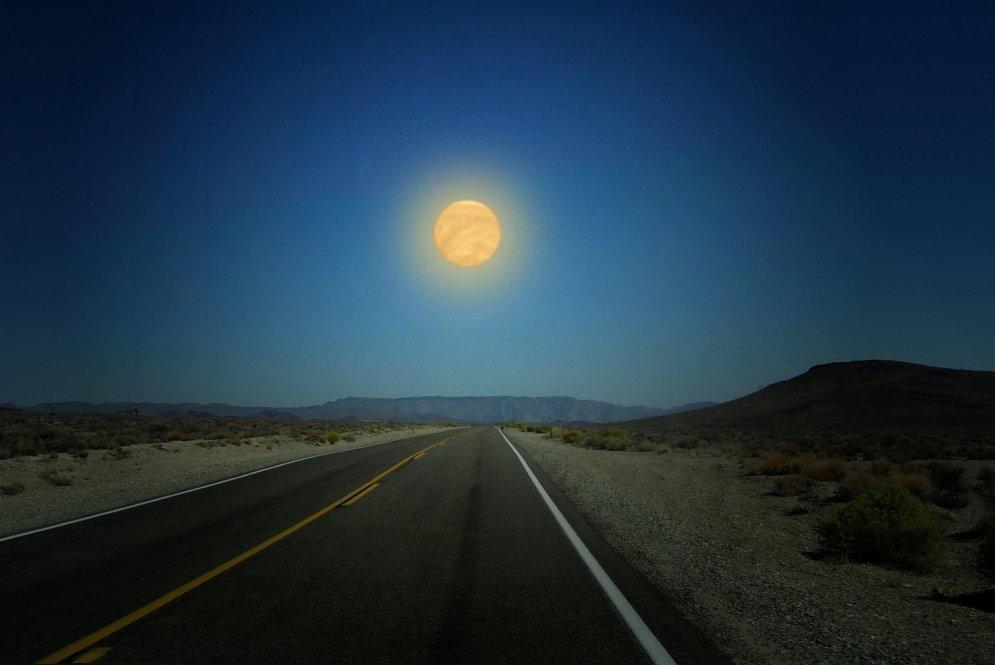 Ja Mēness vietā debesīs mēs redzētu Marsu, Venēru vai Jupiteru...