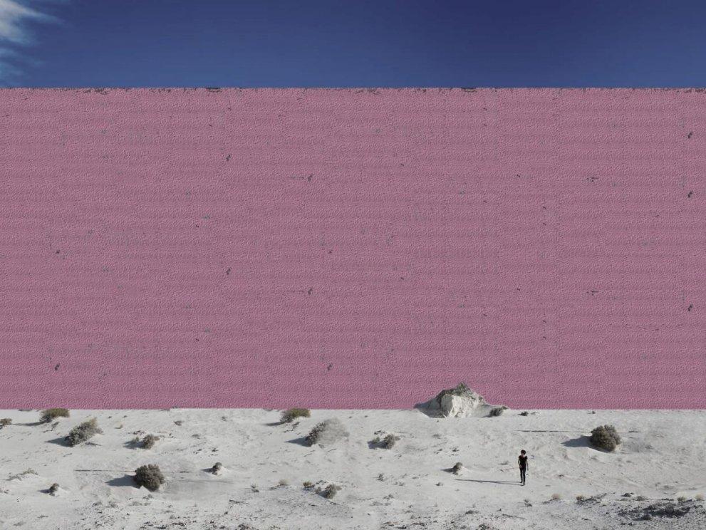 """Мексиканские дизайнеры нарисовали """"Стену Трампа"""" за $25 млрд. и она… розовая!"""