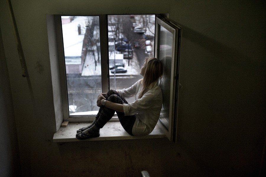 Maskavas kopmītņu foto projekta varone – Inese no Tirzas