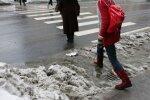 Rīgas dome pētīs savu praksi kaisīt ietves ar sāli