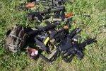 Полиция безопасности разогнала участников игры Airsoft в российской военной форме