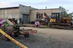 Трагедия на ферме под Добеле: пострадавший мужчина - в тяжелом состоянии