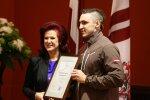 Foto: Latvijas amatpersonas sumina Soču olimpiešus