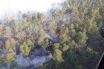 Valdgales pagasta ugunsgrēka dzēšanā cietuši seši glābēji (plkst. 8.09)