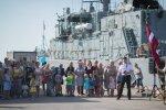 Foto: 'Rūsiņu' palaiž ceļā uz dežūru NATO