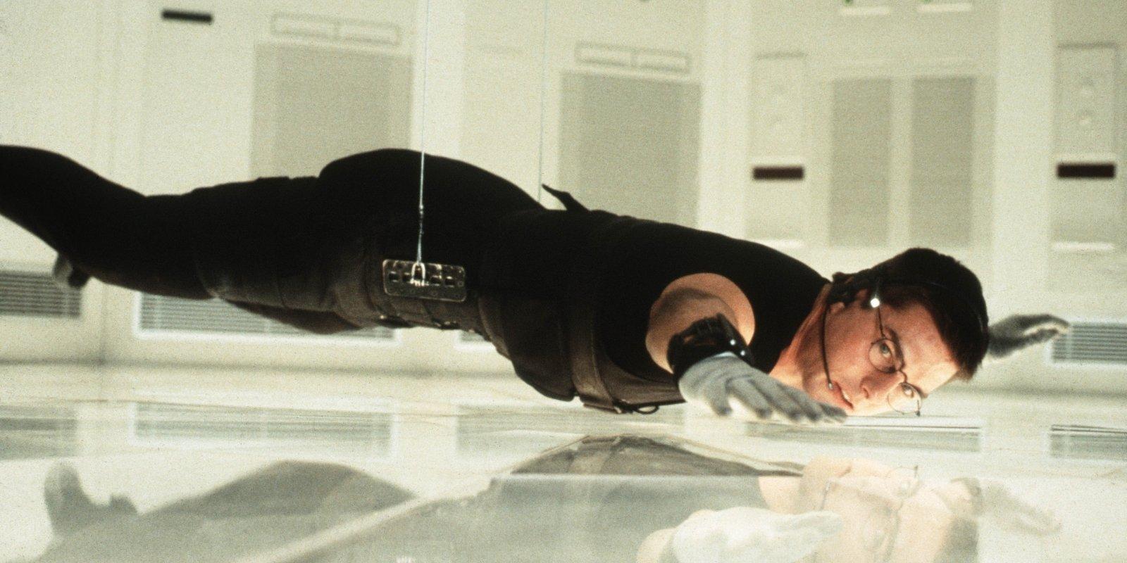 Kā Toms Krūzs aiz matiem ievilka 'Neiespējamajā misijā' vienu no izcilākajiem trikiem