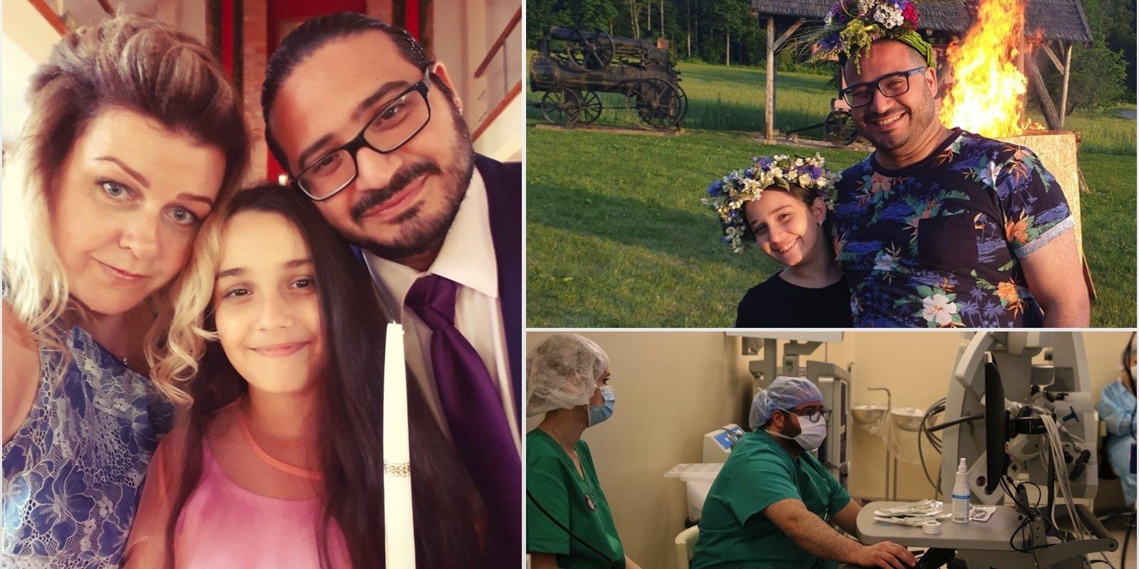 Puse manas sirds pieder Latvijai – neiroķirurgs Basels Jakubs Vahbe