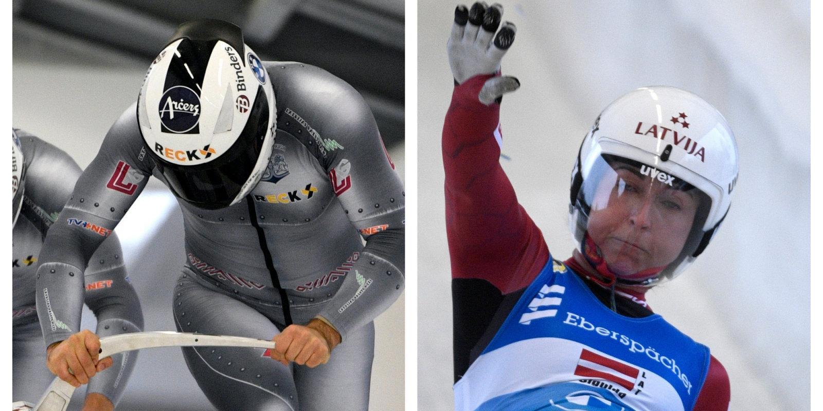 Renes sezonas atskaņas: kamaniņnieki priecīgi par teicamo sezonu, bobslejistiem objektīvi skaidrojumi