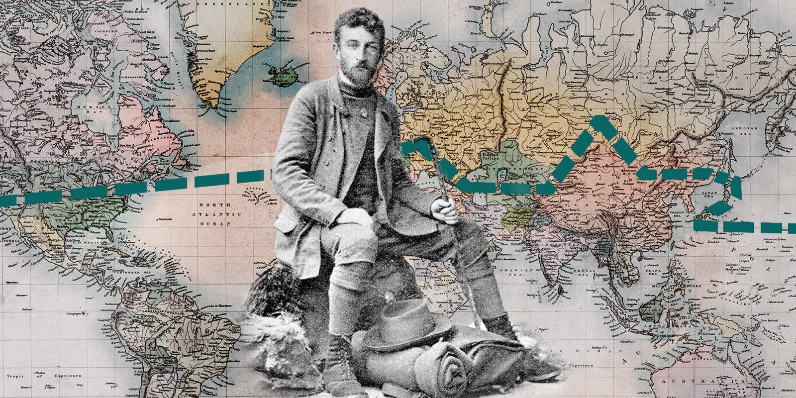 Pirmais cilvēks, kurš kājām apgāja apkārt pasaulei – rīdzinieka Rengartena stāsts