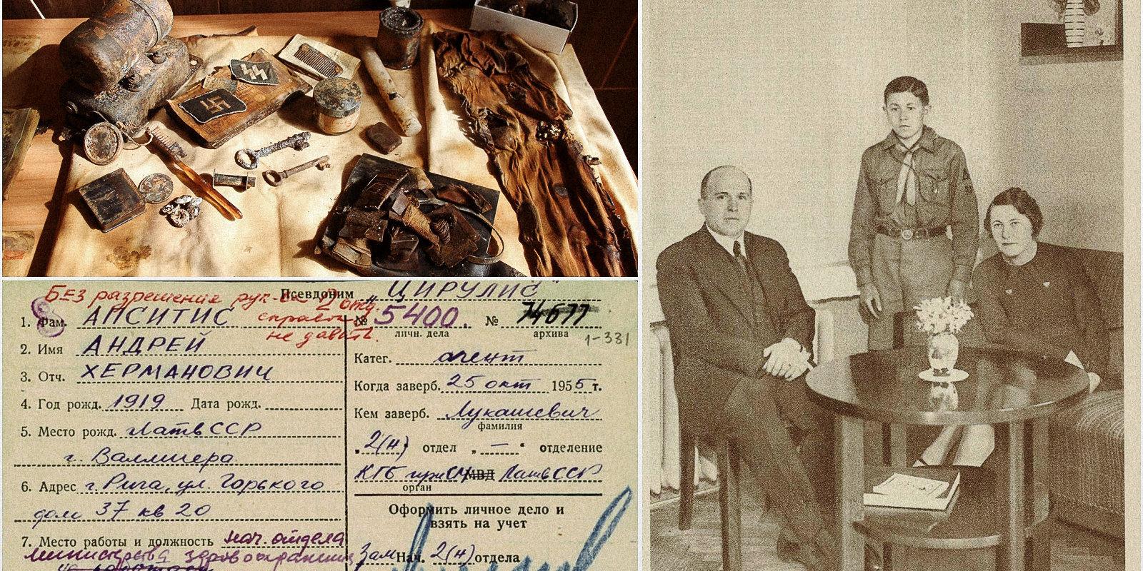 Kurzemē atrastās kastes noslēpumi – dokumenti piederējuši vēlākajam čekas aģentam