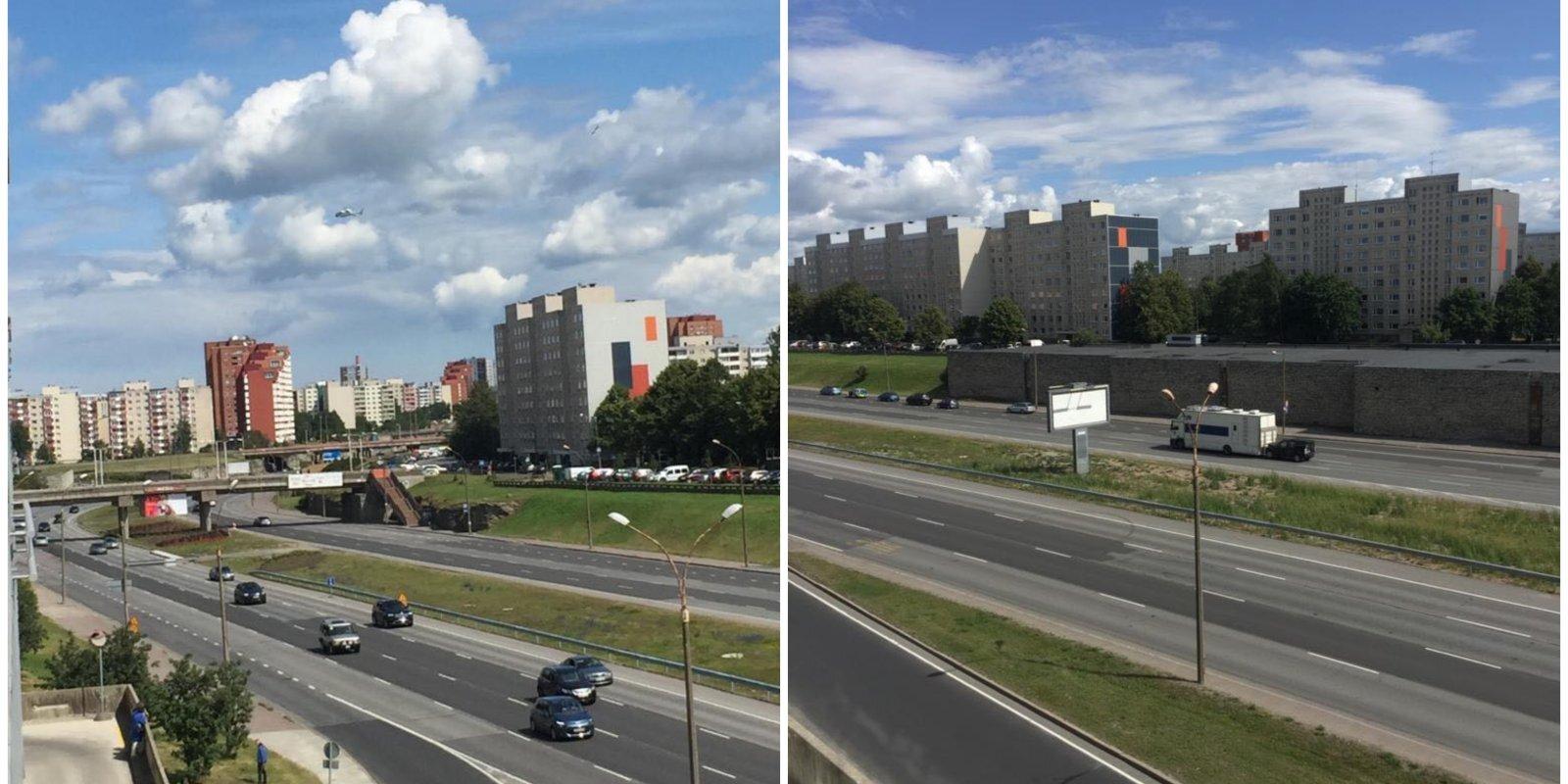 Aculiecinieces iespaidi par spiegu trillera 'Tenet' uzņemšanu Tallinā