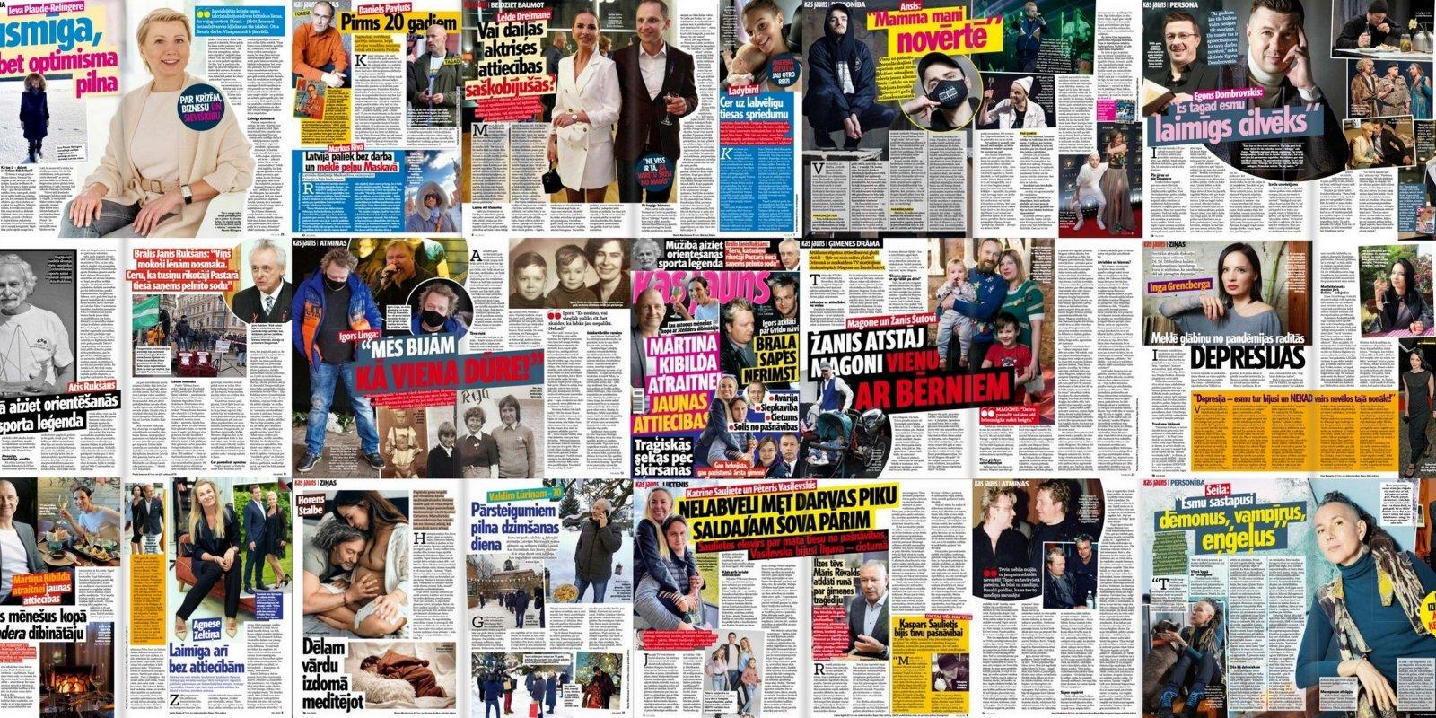 Латыш на заработках в России, ребенок без имени и эволюция Павлютса: о чем пишут латышские таблоиды