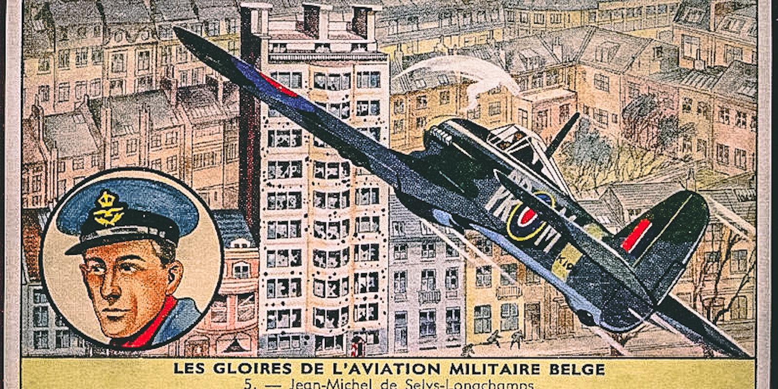 Vienatnē pret nacistiem – beļģu barons, kurš ar lidmašīnu uzbruka gestapo