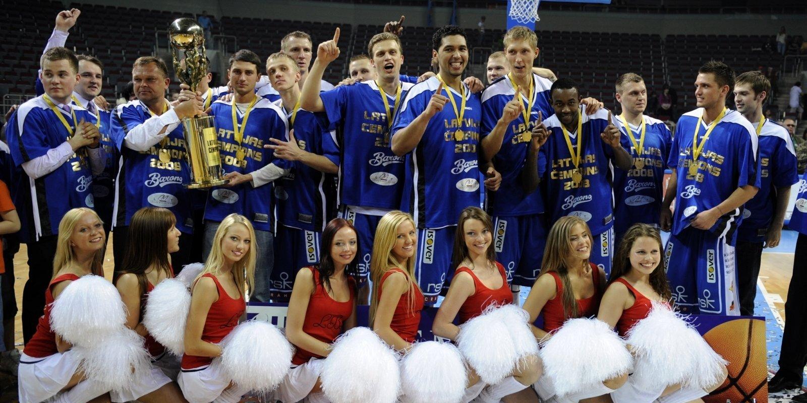 Izcilās komandas: 'Barons/LMT' 'treknajos gados' iekaro Latviju un Eiropu