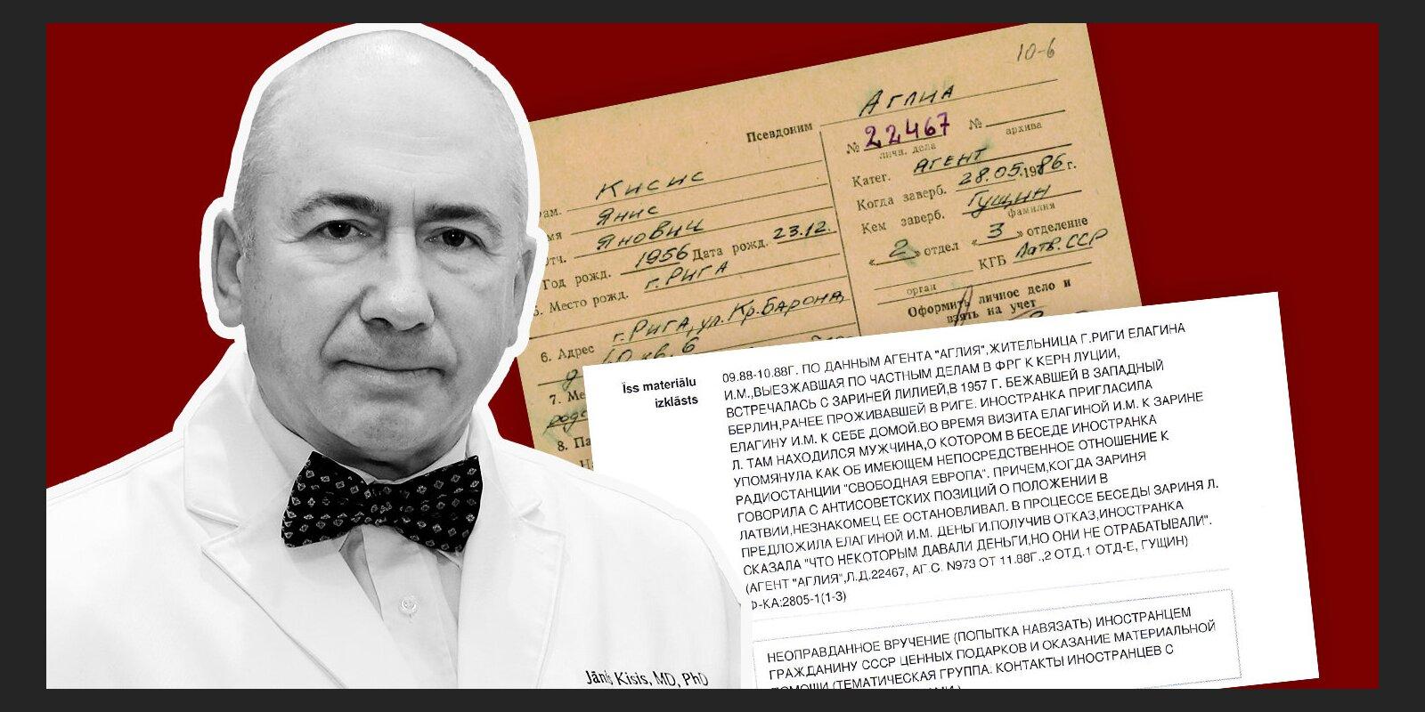 'Maisi vaļā': 'Aglija' ziņo par bēgli no PSRS, ārste atpazīst dermatologu Ķīsi, tiesa spriež - nav sadarbojies