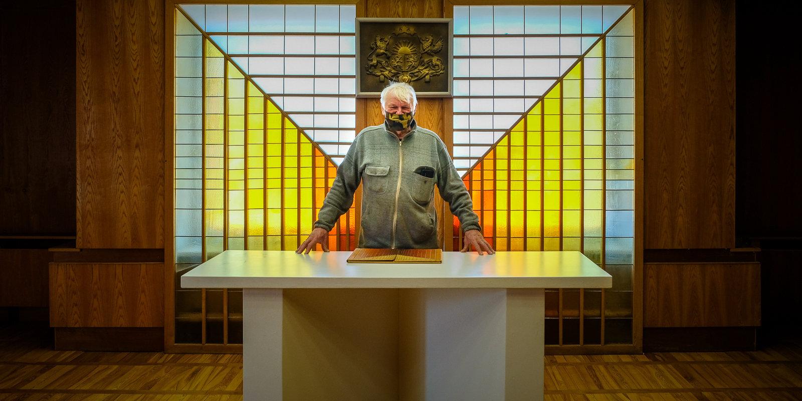 44 gadi Mālpilī – Aleksandrs Lielmežs un viņa ceļš no katlumājas uz pagastmāju