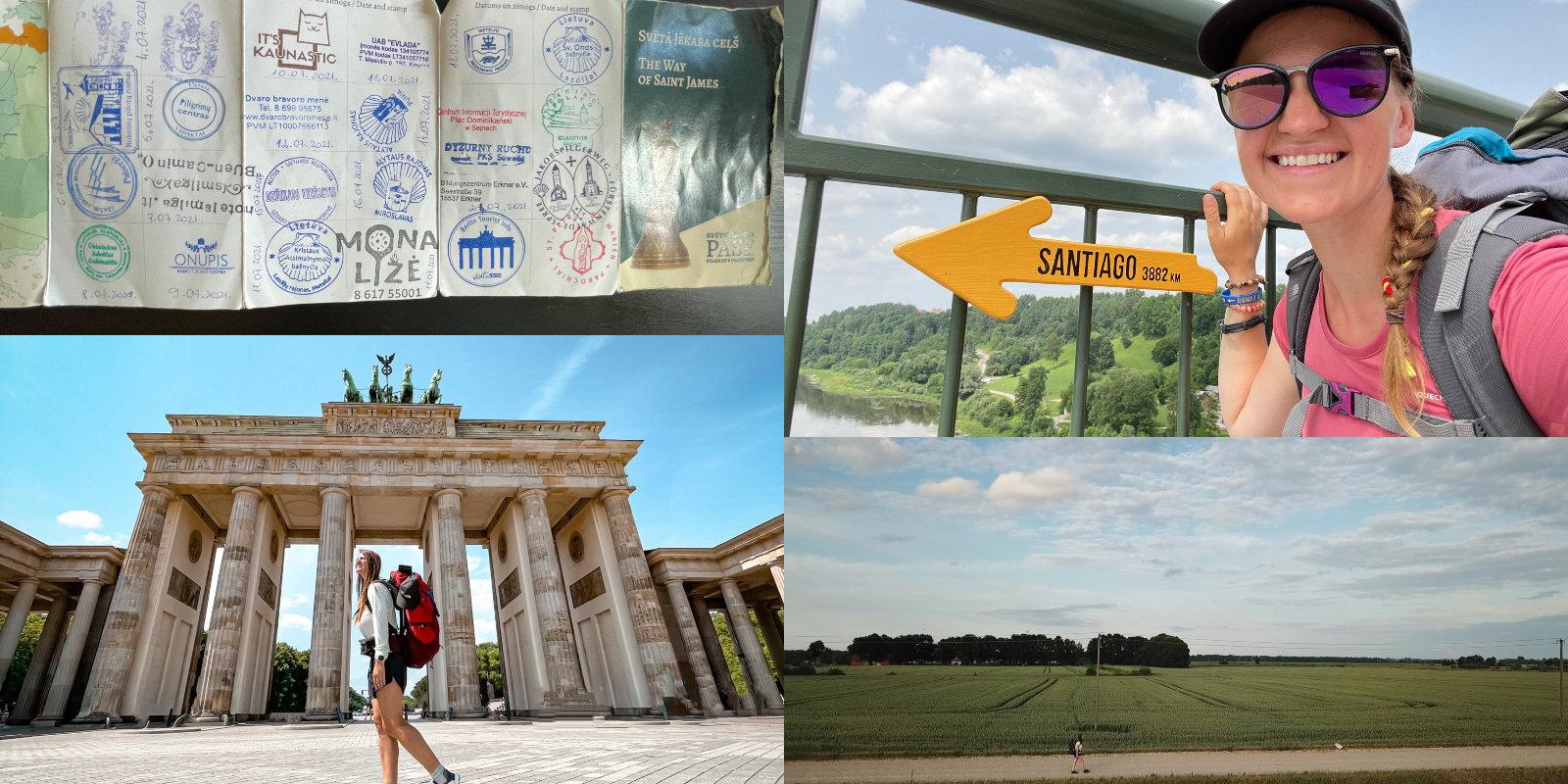 Идти, пока есть силы. Как Агнесе прошла по пути Сантьяго от Валки до Берлина