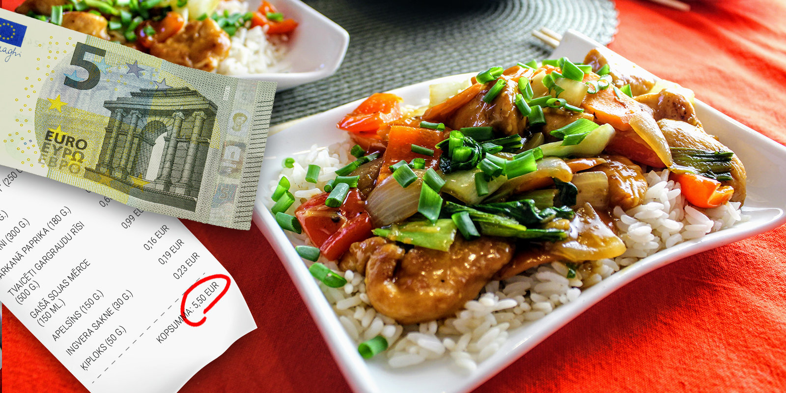 Как в ресторане: простой и вкусный ужин в азиатском стиле на всю семью за 5 евро