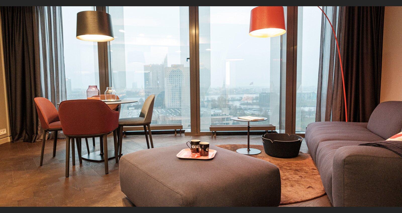 ФОТО. В Z-Towers будут сдавать квартиры: что внутри рижских башен-близнецов?