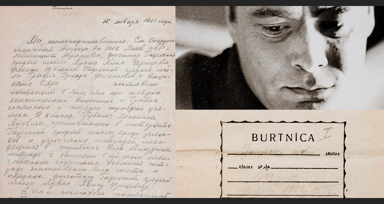 Zēns no citas klases – kā Ojāra Vācieša ziņojums aizveda uz gulagu viņa skolasbiedru