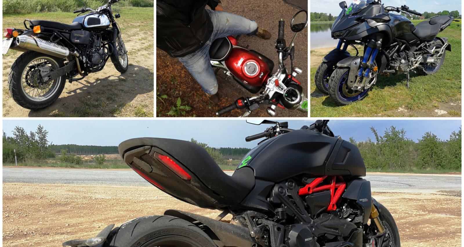 Mazais 'Pērtiķītis', 'Jawa' un 'Niken' uz trim riteņiem: 'Gada motocikla' intriģējošā daudzveidība