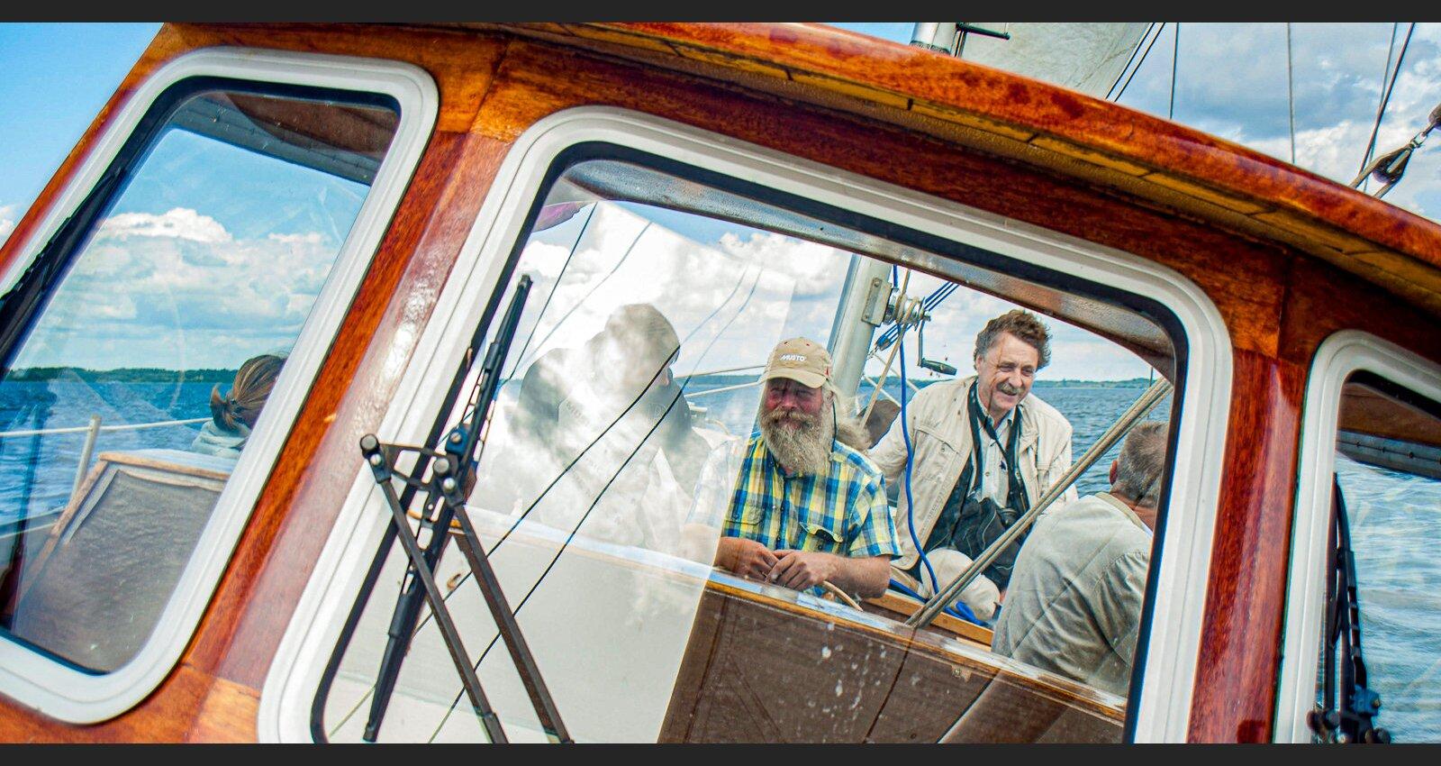 Попутный ветер: капитан Андрис Струцкис о хождении под парусом в Латгальском море