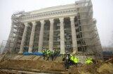 ФОТО: во время реконструкции ДК ВЭФ обнаружились странные