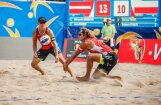 На первом в сезоне турнире латвийские бич-волейболисты не блеснули