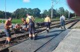 Nebrīdina par slēgto Skrīveru dzelzceļa pārbrauktuvi – aculiecinieks spiests nobraukt 25 liekus kilometrus