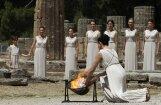Senajā Olimpijā iedegta Londonas olimpisko spēļu uguns