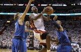 'Heat' ar uzvaru savās mājās sāk NBA  finālsēriju
