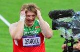 Dopinga lietošanā pieķerta olimpiskā čempione lodes grūšanā Ostapčuka