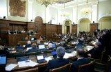 Saeima konceptuāli atbalsta ES 'fiskālās disciplīnas' līgumu