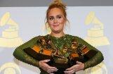 'Grammy' balvu pasniegšanas ceremonijā triumfē Adele