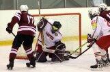 U -17  hokejistu treneris: priecē, ka visi puiši centās