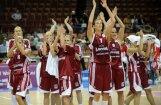 Latvijas basketbolistes  EČ ceturtdaļfinālos – gan uzvaras prieki, gan neveiksmes