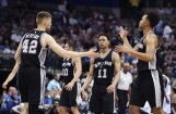 Bertāns paliek uz rezervistu soliņa; 'Spurs' arī otrajā NBA izslēgšanas turnīra spēlē uzvar 'Grizzlies'