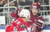 Rīgas 'Dinamo' daudzie metieni nelīdz pārtraukt zaudējumu sēriju