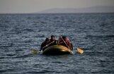 Судно с мигрантами перевернулось у берегов Греции