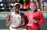 Ostapenko daudzās kļūdas neļauj triumfēt Maiami 'Premier' turnīrā