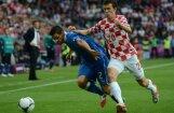 Itālijas un Horvātijas izlases EURO 2012 mačā nospēlē neizšķirti