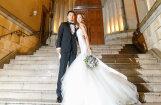 Foto: Ieskats japāņu supermodeles greznajās kāzās
