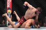 ВИДЕО, ФОТО: Российский боец Нурмагомедов впервые стал чемпионом UFC