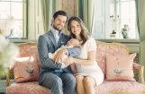 Publicēti apburoši Eiropas skaistākā karaliskā pāra ģimenes foto