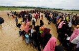 Mjanmas vēršanās pret rohindžiem ir etniskās tīrīšanas 'paraugs', secina ANO