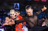 Dejotāji Gudovskis un Morīte Rīgā triumfē pasaules čempionātā jauniešiem Latīņamerikas dejās