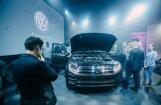 Foto: Latvijā prezentēts jaunais 'VW Amarok V6' pikaps