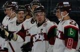 Lielisks trešais periods sekmē Latvijas hokeja izlases uzvaru EIHC turnīra pirmajā spēlē