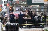 На Таймс-сквер автомобиль въехал в толпу: один погибший, около 20 пострадавших